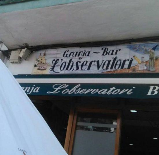 Observatori Granja Bar Sitges 2