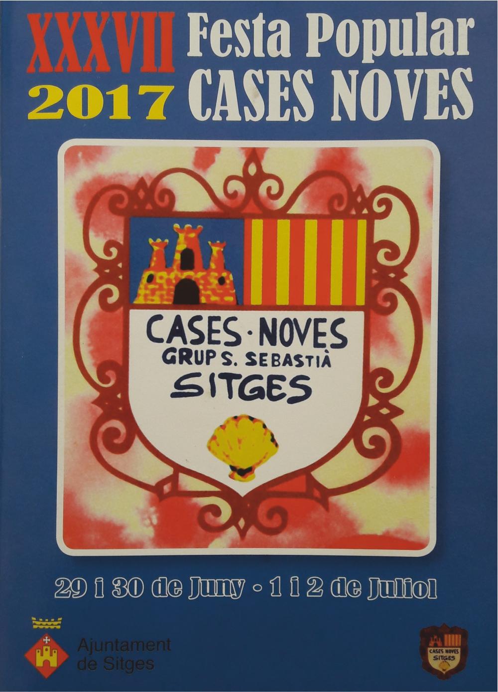 Festa popular cases noves sitges 2017