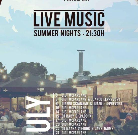 La sinia restaurant live musica