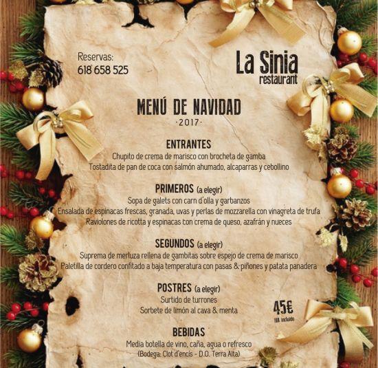 menu-navidad-la-sinia-restaurant
