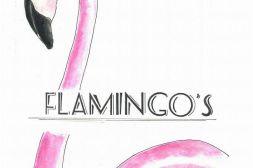 flamingos-letters