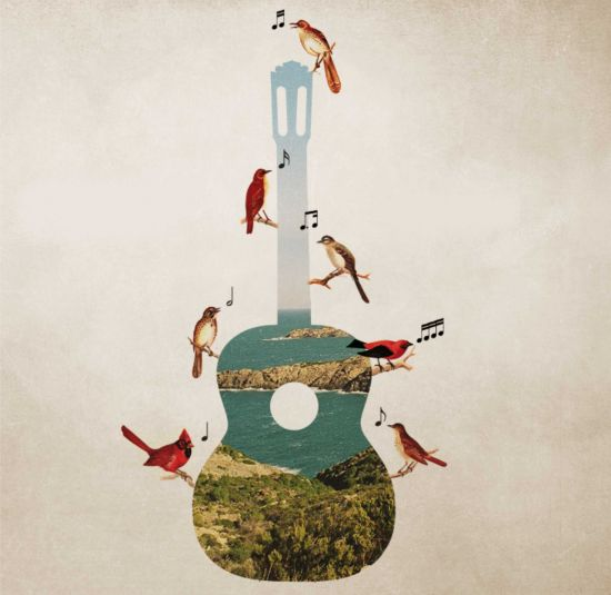 mediterranean guitar sitges