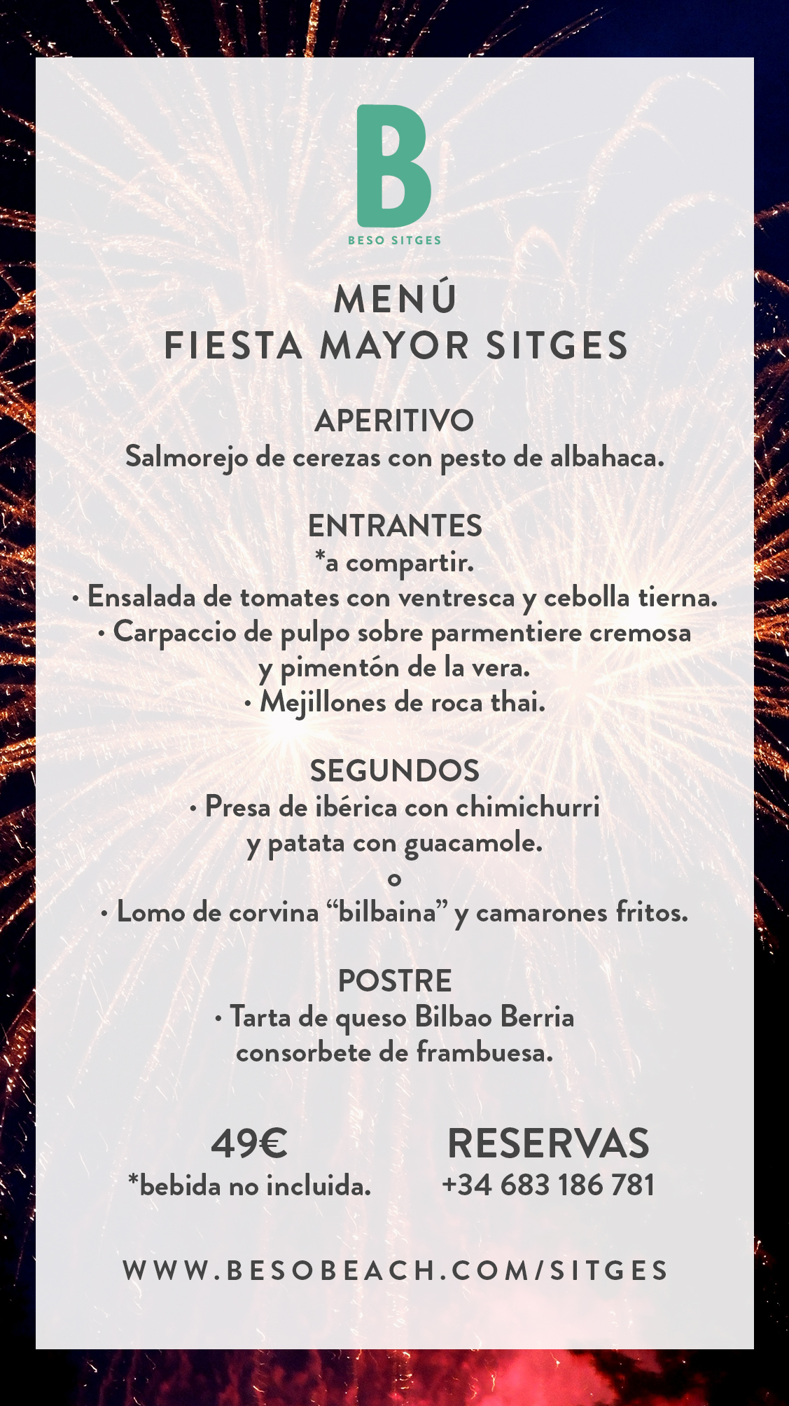 beso sitges